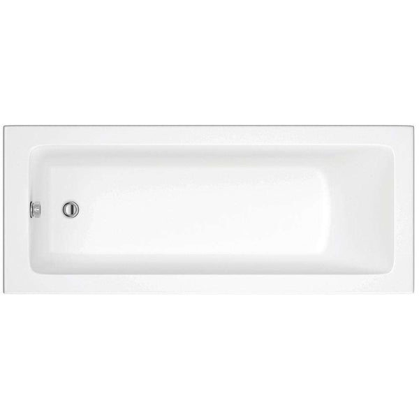 Solarna Supercast Single End 1700mm x 700mm 0TH Bath