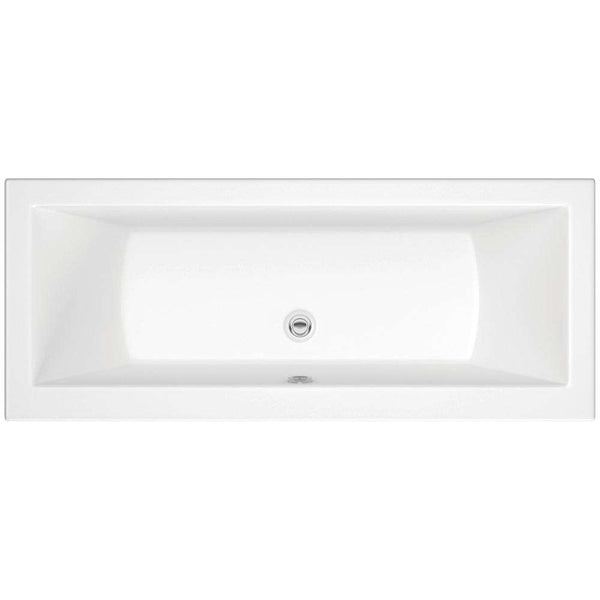 Solarna Supercast Double End 1700mm x 750mm 0TH Bath