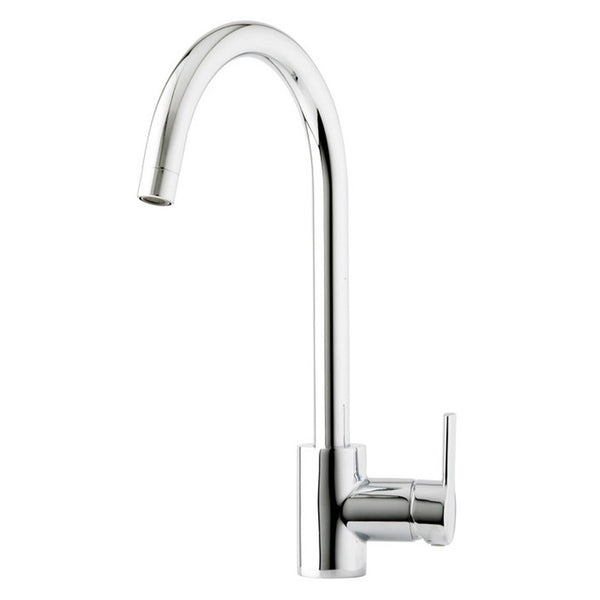 Prima+ Soho Single Lever Soho Swan Neck Chrome Mixer Tap
