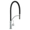 Prima+ Single Lever Pull Out Mixer Tap Black Brushed Steel | BPR710