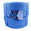 Timco Blue Poly Rope Long - Coil - 12mm x 220m