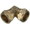 10mm Compression Equal Elbow 90° - WRAS Approved
