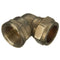 "10mm x 1/4"" Compression to Female Iron Elbow 90° Parallel - WRAS Approved"