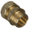"10mm x 1/4"" Compression to Male Iron Adaptor Tapered - WRAS Approved"