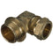 "10mm x 1/2"" Compression to Male Iron Elbow 90° Parallel - WRAS Approved"