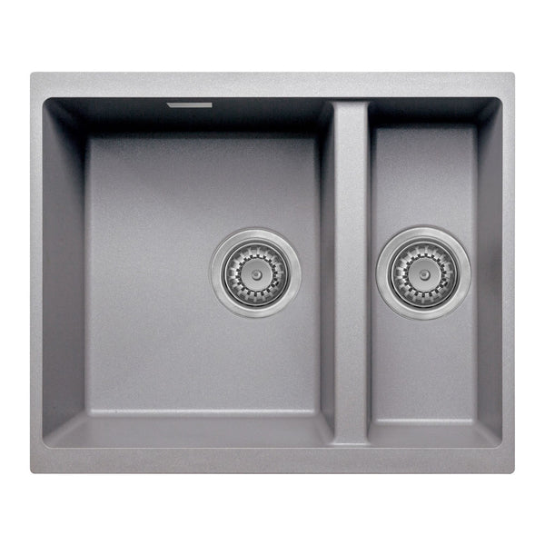 Prima+ 1.5 Bowl Composite Undermount Sink - Light Grey Granite | CPR355