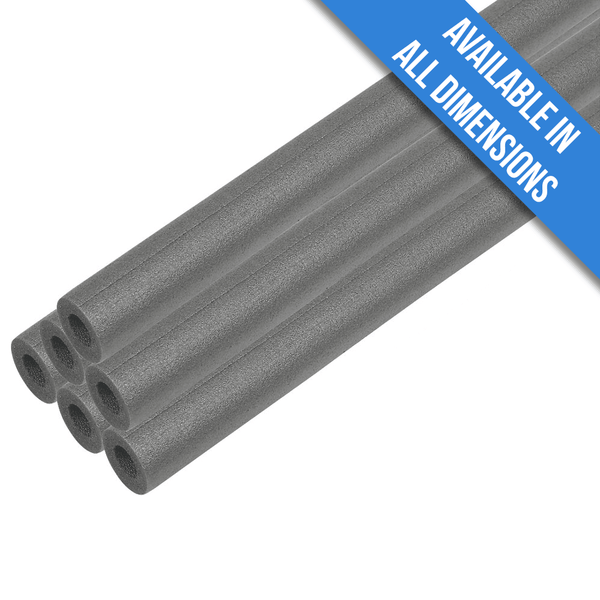 Climaflex Foam Pipe Insulation Lagging - 22mm x 13mm (10 x 1m Lengths)