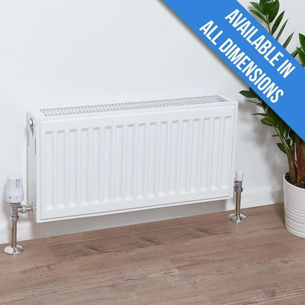 Ultraheat Compact 4 DF Double Panel, Double Convector Radiator - 300mm x 1300mm