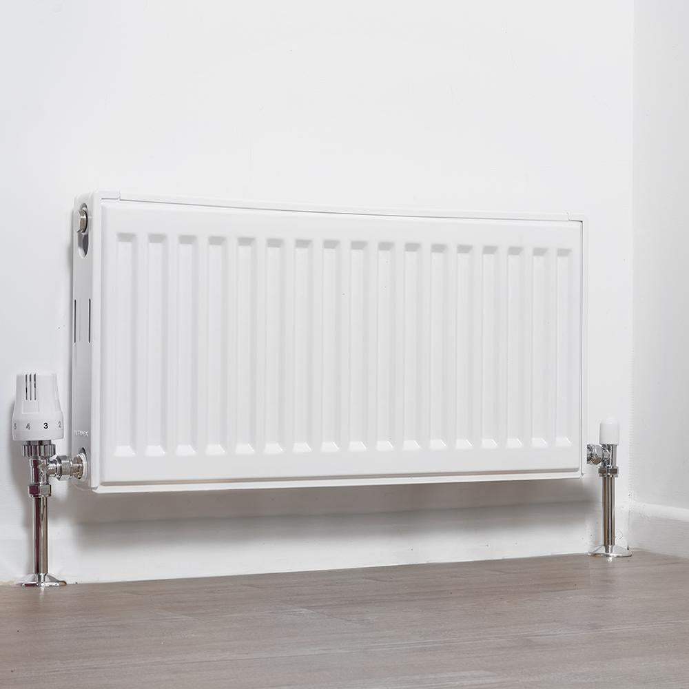 Ultraheat Compact 4 SF Single Panel, Single Convector Radiator (400mm Height)