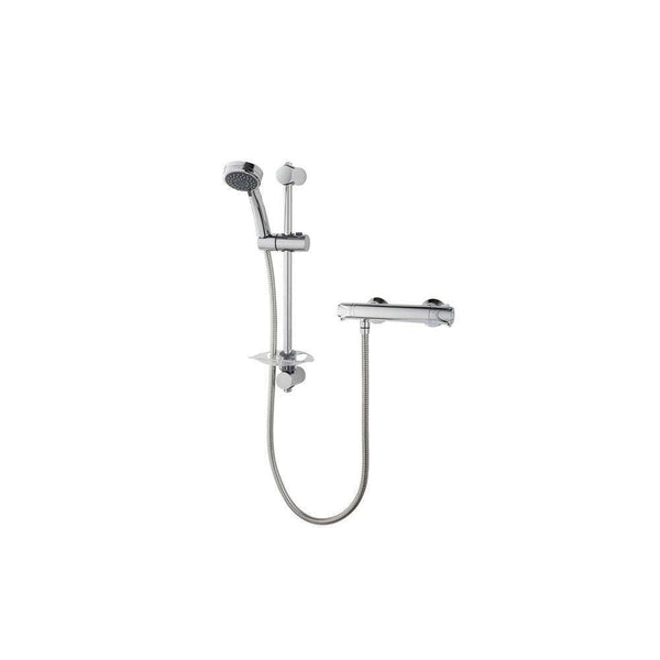 Triton Dene Thermostatic Bar Mixer Shower, Chrome