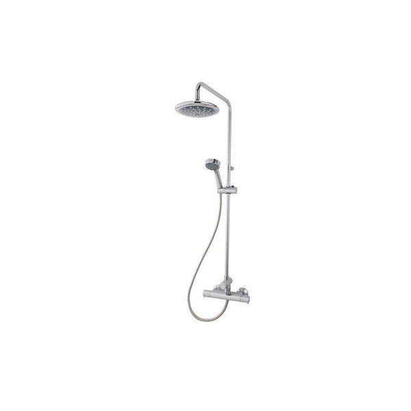 Triton Dene Thermostatic Bar Mixer Shower with Diverter, Chrome