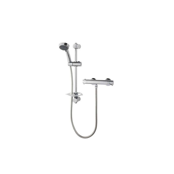 Triton Dene Cool-Touch Thermostatic Bar Mixer Shower, Chrome