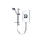 Triton Amore Electric Shower 9.5kW, White Gloss