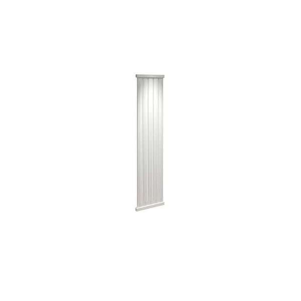 Elmas 1800mm x 410mm Radiator, White