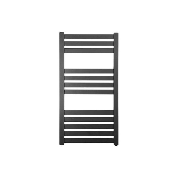 Strand 500mm x 960mm Designer Radiator, Matt Black