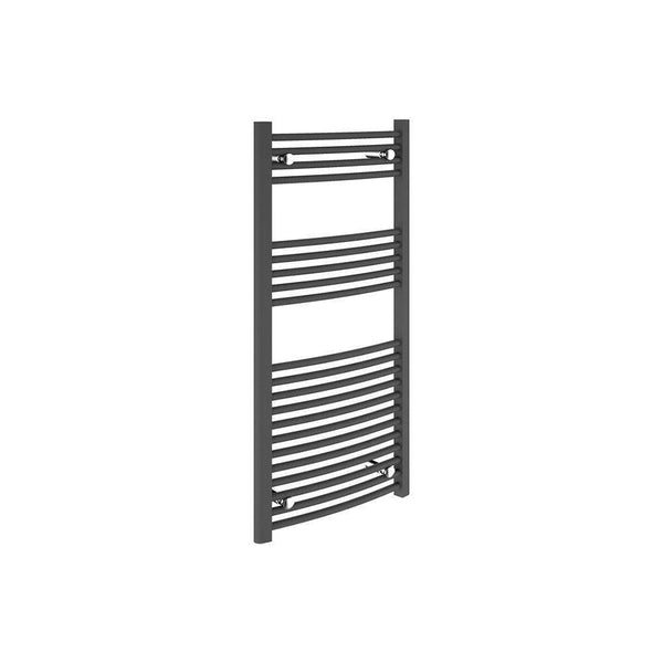 22mm Curved Towel Warmer 600mm x1200mm, Anthracite