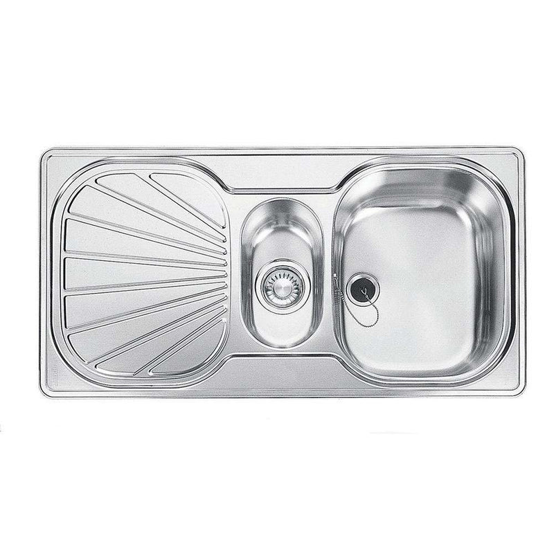 Franke Erica EUX 651 Reversible Stainless Steel 1.5 Bowl Inset Sink | 101.0019.158