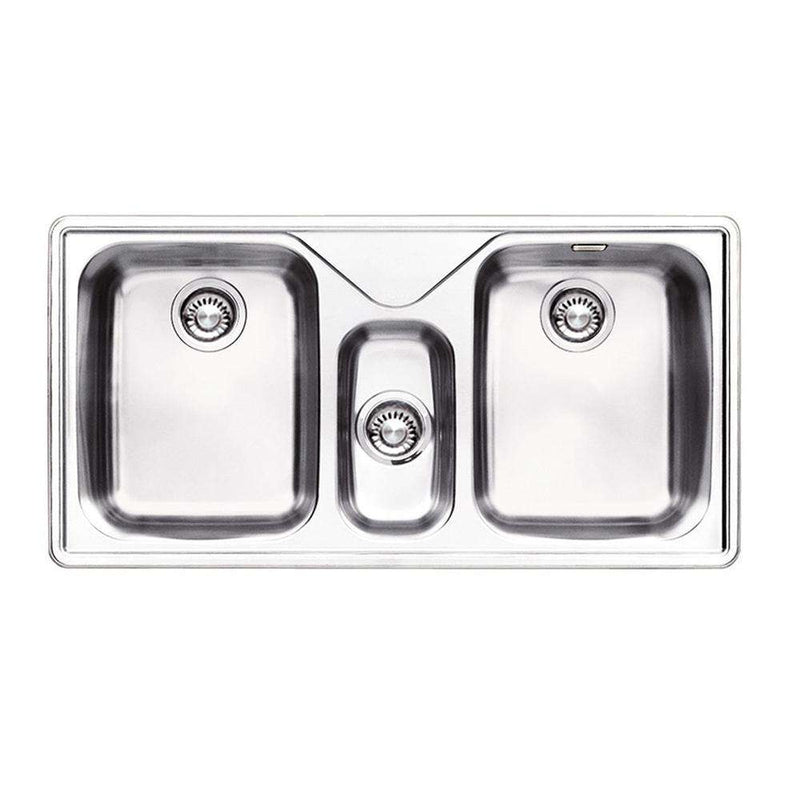 Franke Ariane ARX 670 Stainless Steel 2.5 Bowl Inset Sink | 101.0151.685