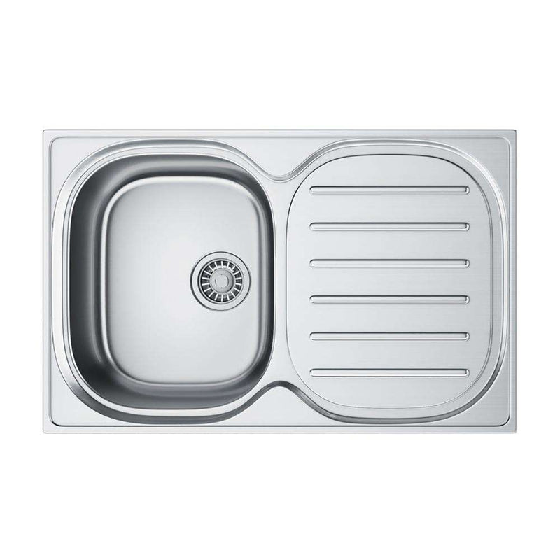 Franke Compact Plus CPX P 611 780 Right Handed Stainless Steel 1.0 Bowl Inset Sink | 101.0182.233