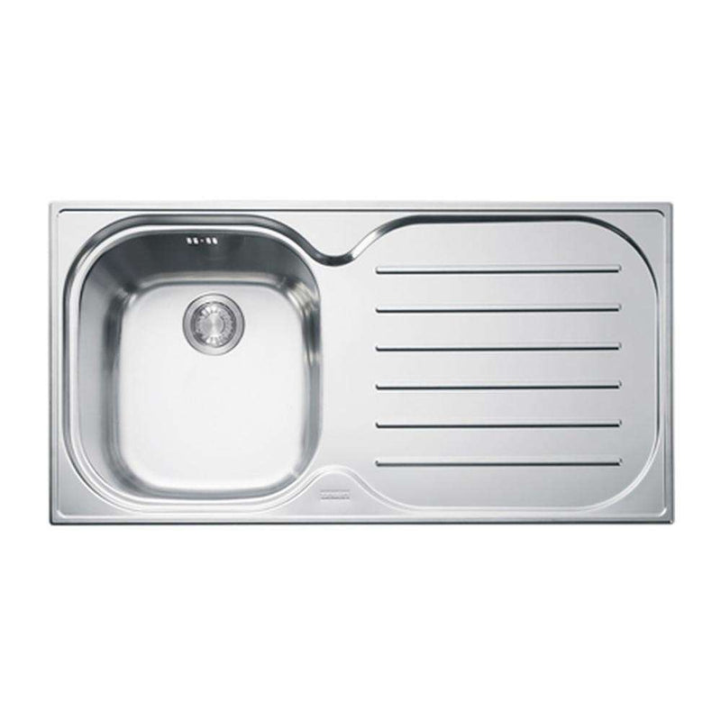 Franke Compact Plus CPX P 611 965 Right Handed Stainless Steel 1.0 Bowl Inset Sink | 101.0182.324
