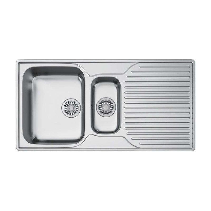 Franke Ariane ARX 651P Right Handed Stainless Steel 1.5 Bowl Inset Sink | 101.0277.101