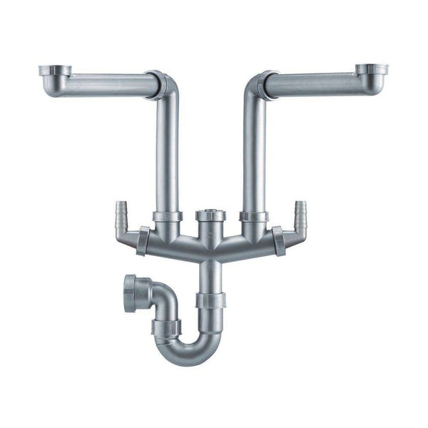 Franke Siphon II Plumbing Kit for 1.5 & 2.0 Bowl Sinks | 112.0052.536