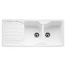 Franke Calypso COG 621 Reversible Fragranite 2.0 Bowl Inset Sink, White | 114.0527.248