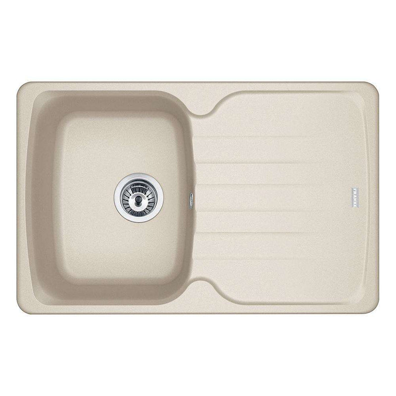 Franke Antea AZG 611-78 Reversible Fragranite 1.0 Bowl Inset Sink, Coffee | 114.0532.230