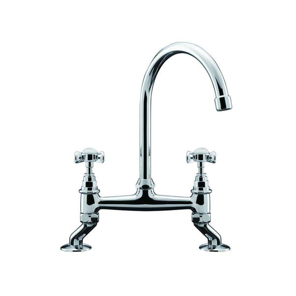 Franke Bridge Classic Bridge Tap, Chrome | 115.0049.960