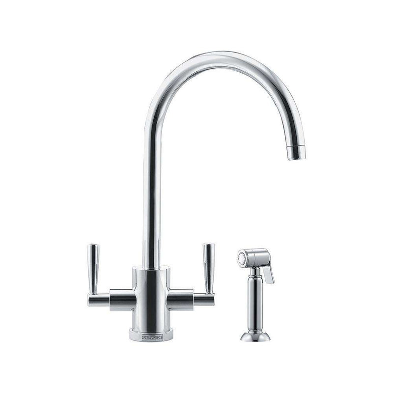 Franke Olympus Mixer Tap with Hand Spray, Chrome | 115.0051.538