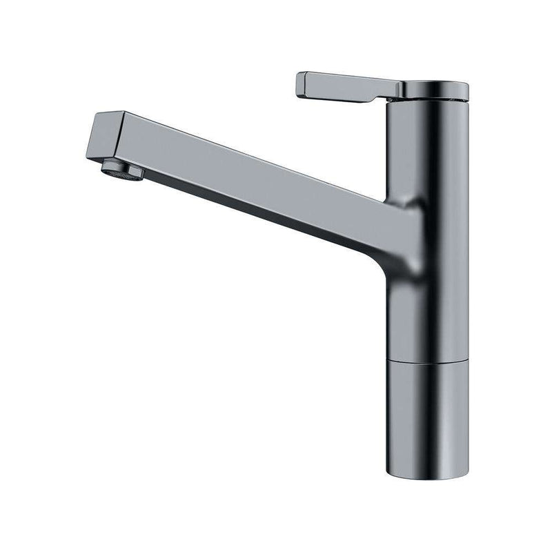 Franke Frames Top Lever Mixer Tap, Decor Steel | 115.0370.445