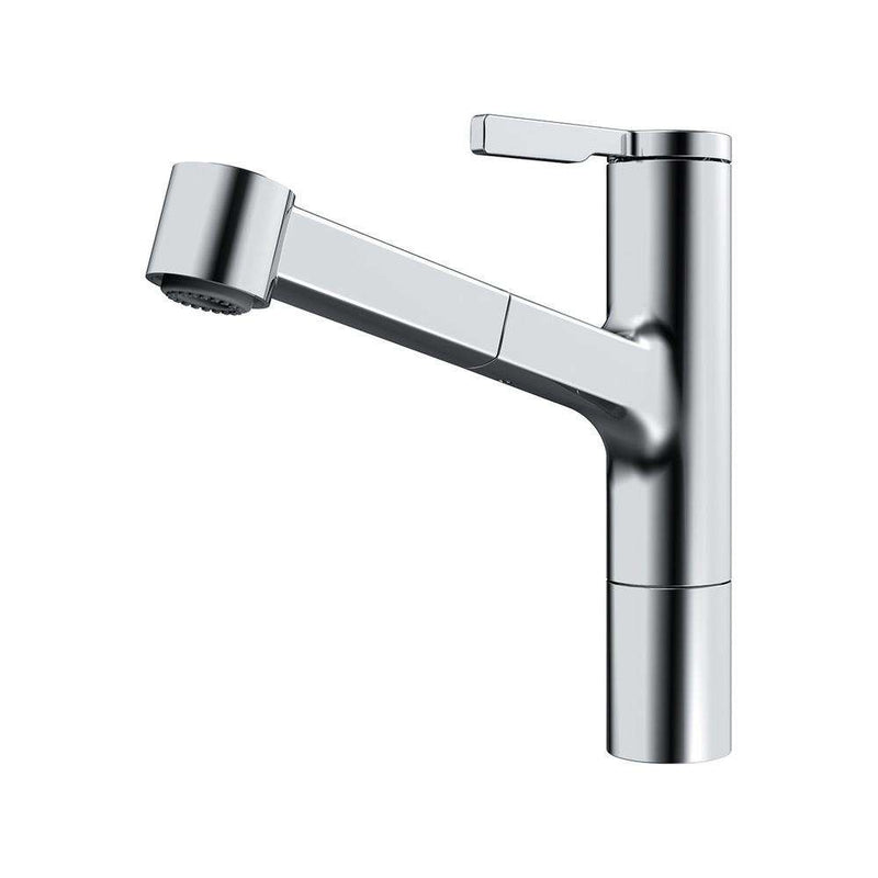 Franke Frames Top Lever Mixer Tap with Pull-Out Spray, Chrome | 115.0370.504