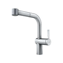 Franke Frames Side Lever Stainless Steel Mixer Tap with Pull-Out Spray | 115.0370.592