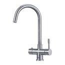Franke Minerva Helix 3-in-1 Stainless Steel Kettle Tap | 119.0474.418