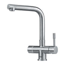 Franke Minerva 4-in-1 Mondial Electronic Single Lever Stainless Steel Mixer Tap | 119.0474.444