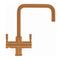 Franke Omni 4-in-1 Dual Lever Contemporary Mixer Tap, Copper | 119.0513.228