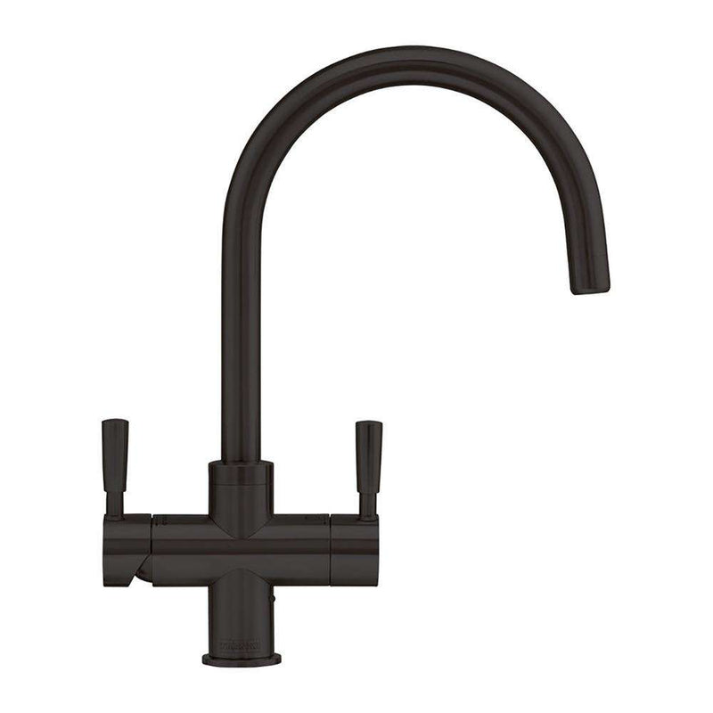 Franke Omni 4-in-1 Dual Lever Original Mixer Tap, Black | 119.0513.242
