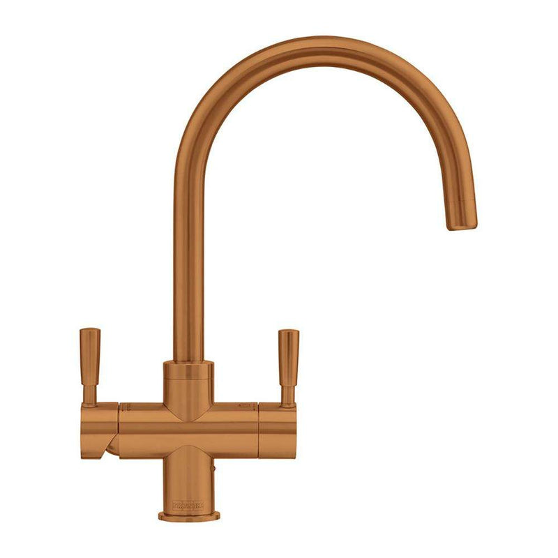 Franke Omni 4-in-1 Dual Lever Original Mixer Tap, Copper | 119.0513.243