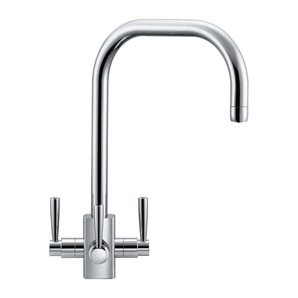 Franke Filterflow Kubus Mixer Tap, Chrome | 120.0180.354