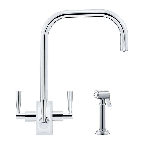 Franke Filterflow Kubus Mixer Tap w/Hand Spray, Chrome | 120.0187.982