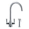 Franke Filterflow Doric Mixer Tap w/Hand Spray, Chrome | 120.0187.984