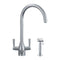 Franke Filterflow Doric Mixer Tap w/Hand Spray, Silk Steel | 120.0187.985