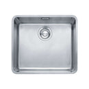 Franke Kubus KBX 110-45 Stainless Steel 1.0 Bowl Undermount Sink | 122.0036.608