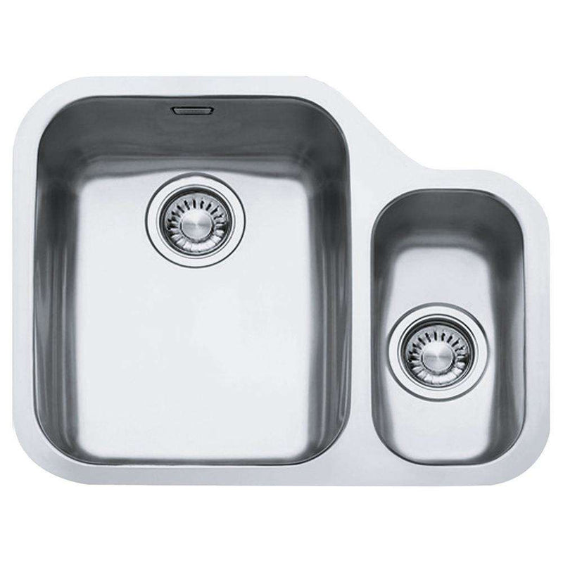 Franke Ariane ARX 160 Right Handed Small Bowl Stainless Steel 1.5 Bowl Undermount Sink | 122.0154.935