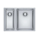 Franke Maris MRX 160-34-19 Left Handed Small Bowl Stainless Steel 1.5 Bowl Undermount Sink | 122.0553.949
