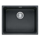 Franke Kubus KBG 110-50 Fragranite 1.0 Bowl Undermount Sink, Onyx | 125.0153.594