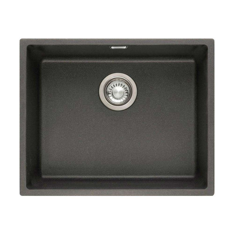 Franke Sirius SID 110-50 Tectonite 1.0 Bowl Undermount Sink, Black | 125.0252.223