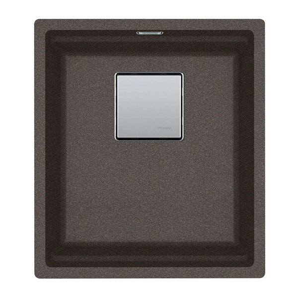 Franke Kubus KNG 110-37 Fragranite 1.0 Bowl Undermount Sink, Copper Grey | 125.0539.632