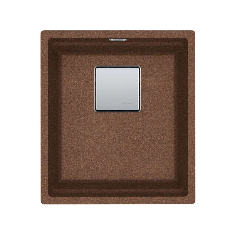 Franke Kubus KNG 110-37 Fragranite 1.0 Bowl Undermount Sink, Copper Gold | 125.0539.633