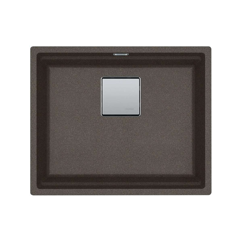 Franke Kubus KNG 110-52 Fragranite 1.0 Bowl Undermount Sink, Copper Grey | 125.0539.671